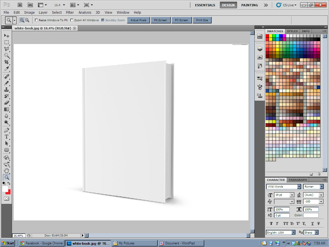 Book Cover Design Tutorial In Photo ~ Tutorial making a superimposed book cover u new rule