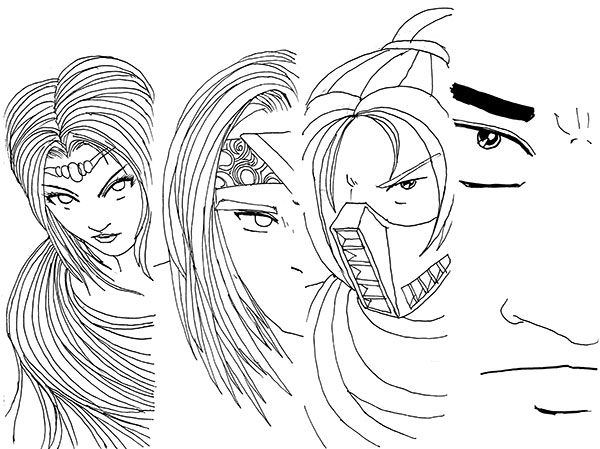 Wawanen adalah komik rekaan Epiet dari Komik Karpet Biru. Ini adalah gambar keempat tokoh utamanya