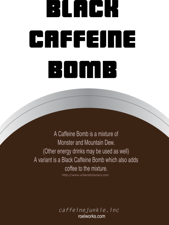 Black Caffeine Bomb